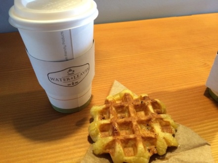My Chai and Belgian Waffle