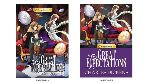 Manga Version of Great Expectations by Crystal S. Chan & Nokman Poon © Manga Classics (Via Manga Classics)